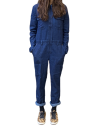 Combinaison United By Blue Recycled Denim Coverall en jean